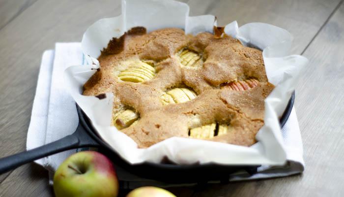 Appelcake met grappa