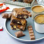 Kinder Chocolate brownies