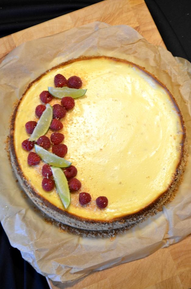 cheesecake met limoen