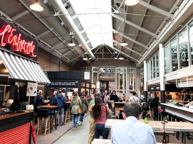 Hotspot: Foodhallen in Amsterdam