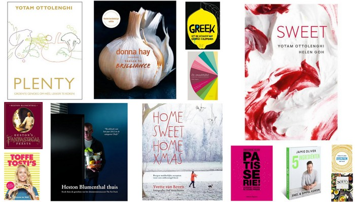 De mooiste kookboeken voor kerst (of Sinterklaas)