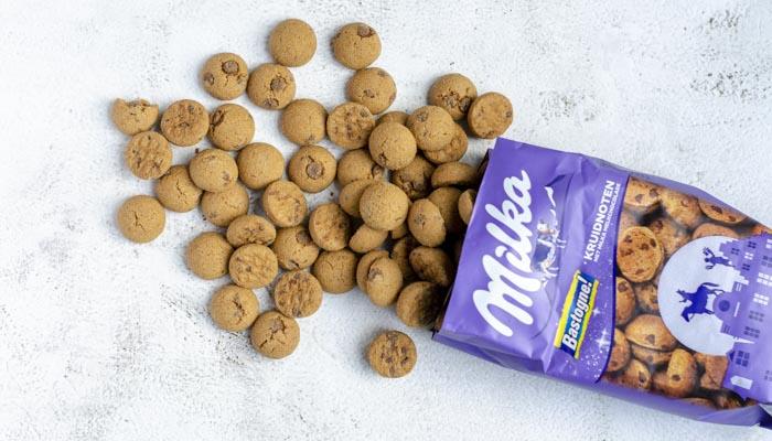 Pepernoten met chocolade: Milka kruidnoten!
