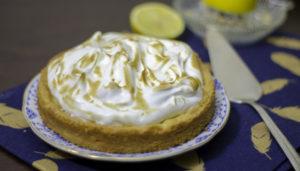 Citroentaart met merengue