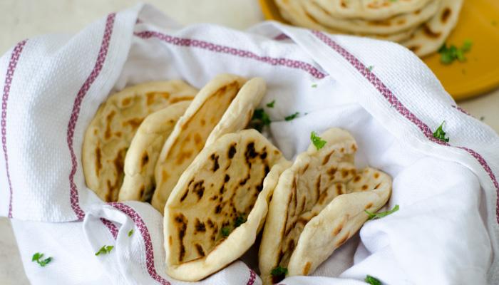 volg de kruimels - luchtig naanbrood - heerlijk recept voor naan