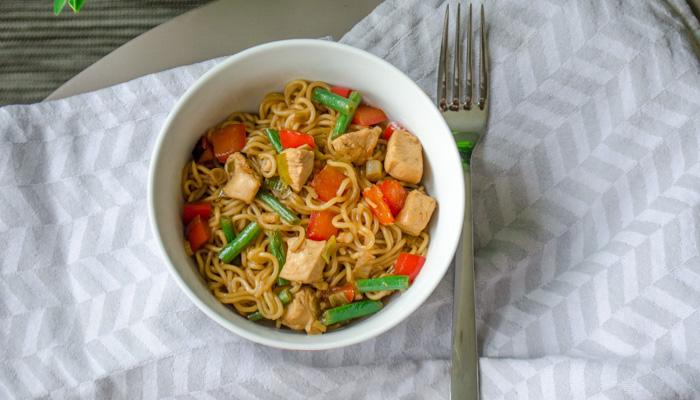Simpel recept voor Chow Mein met noodles