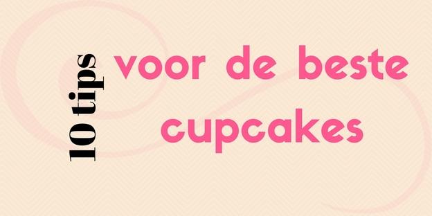 10 tips voor de beste cupcakes